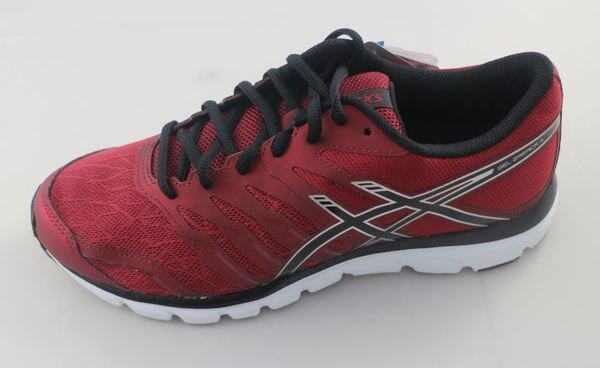 (特價) ASICS 日本亞瑟士 男款慢跑鞋 運動鞋GEL- ZARACA 4 T5K3N-2699暗紅 [陽光樂活]