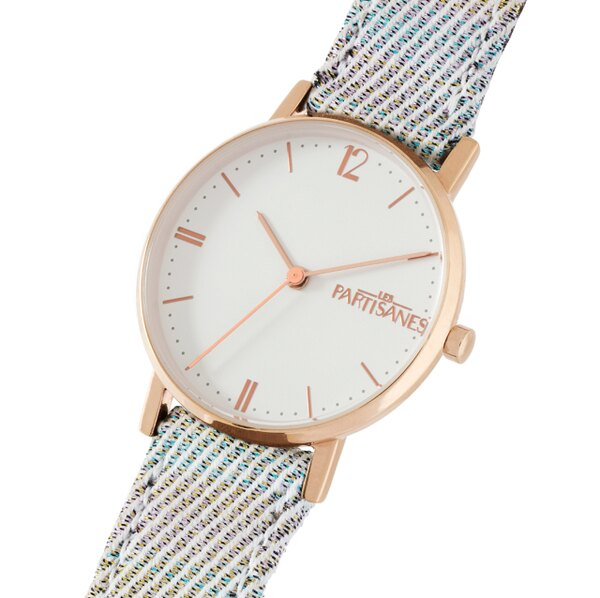 【515 URBAN HERITAGE】法國師傅手工製錶 LES PARTISANES  AUDACIEUSE系列錶款 FABRIC