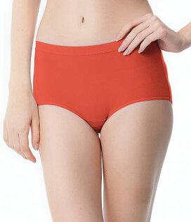 【PH5.5酸鹼平衡褲】Pure5.5-修身超彈中腰女三角褲-橙果橘【3件$999】