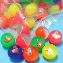 中彈力球 35mm水撈球 彈跳球 跳跳球 水漂球 橡膠球玩具/一袋12個入{定10}~YF11597