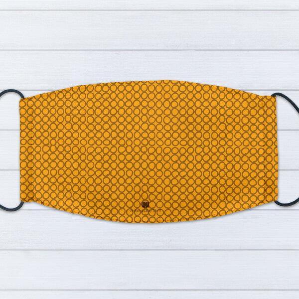 [ IHERMI ] 個性口罩 / 幾何橘圈 / 愛好蜜 MIT台灣製造好安心 環保染劑使用 極細緻印染技術 0
