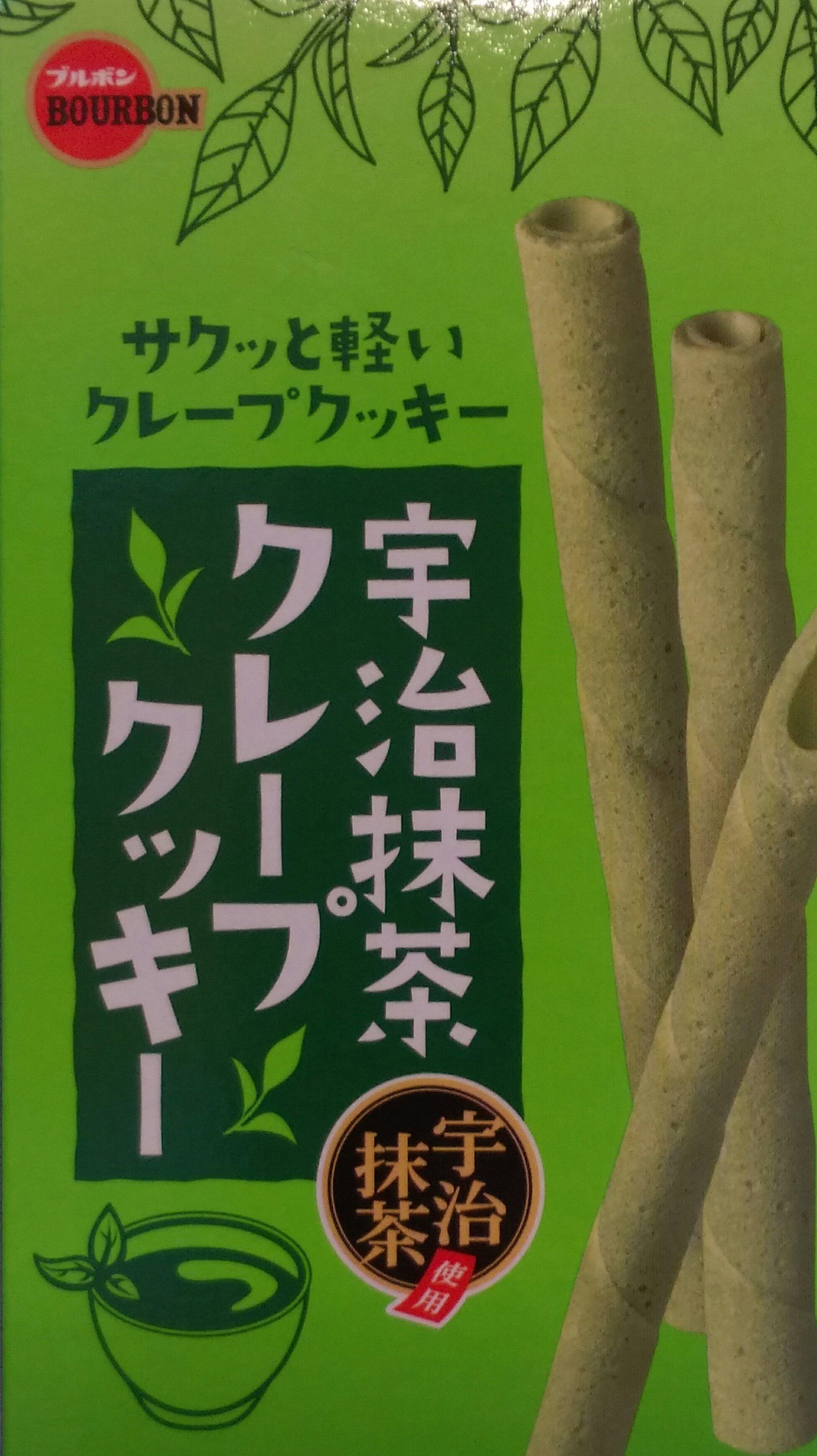 有樂町進口食品 北日本 宇治抹茶捲心酥 12入/46.8g 4901360320448 0