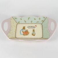 鄉村風zakka雜貨到AnniesFriends 比得兔 Peter Rabbit PR拼布風 鄉村風 水果盤 托盤 置物盤