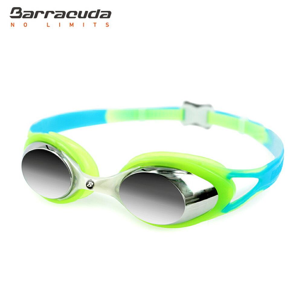 美國巴洛酷達Barracuda兒童抗UV電鍍泳鏡-CARNAVAL#34710 3