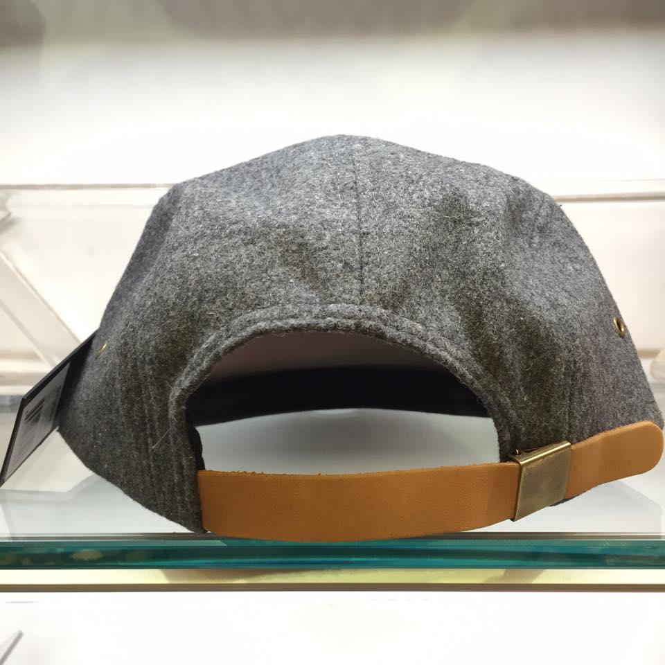 BEETLE STUSSY STOCK WOOL CAMP CAP 灰白 羊毛 麂皮 五分帽 刺繡 LOGO 素面 2