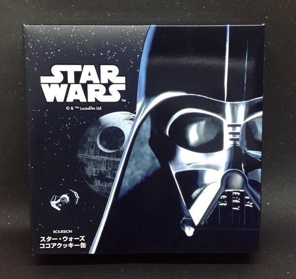 【橘町五丁目】出清促銷!!Bourbon 北日本 STAR WARS 星際大戰 圓形浮雕罐餅乾禮盒 (54枚入)