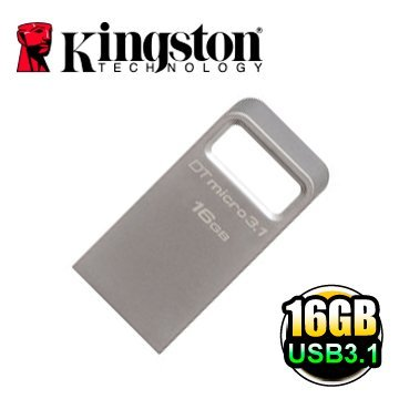 *╯新風尚潮流╭*金士頓 16G 16GB Data Traveler Micro 3.1 USB3.1 隨身碟 DTMC3/16GB