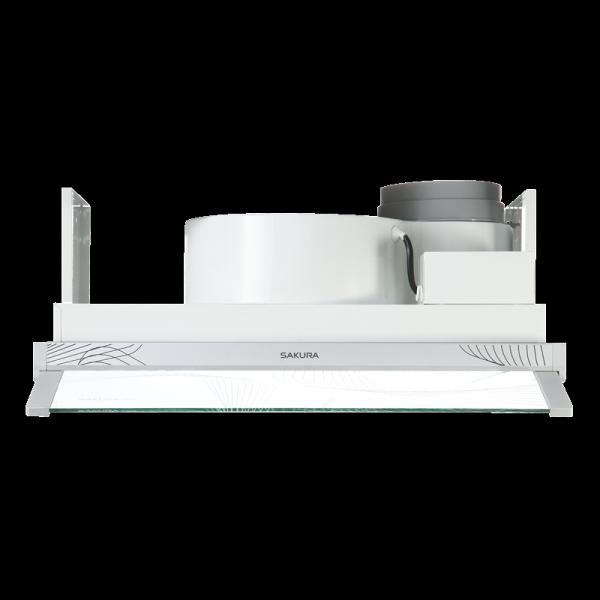 (櫻花)輕巧型除油煙機半/全隱藏式-小宅系列(60cm)-R605