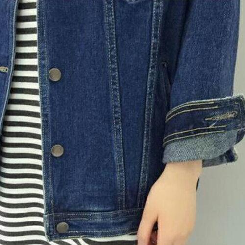 外套 - 衣緣小破壞感雙口袋牛仔長袖外套【29174】藍色巴黎《2色》現貨 + 預購 2