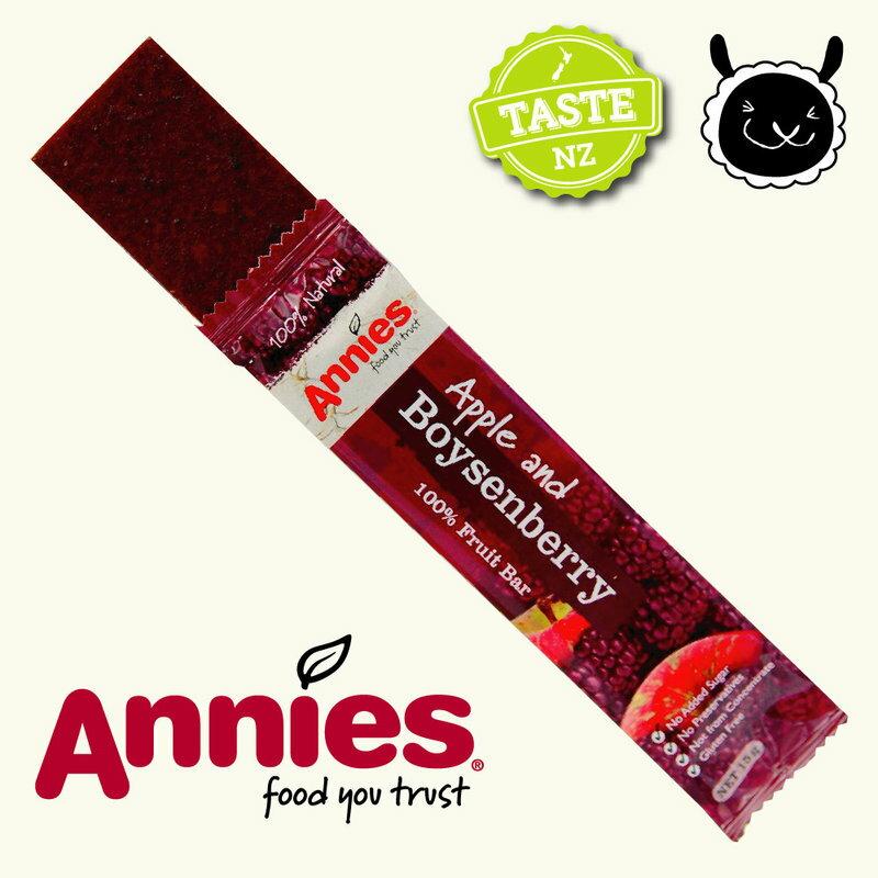 【壽滿趣- 紐西蘭原裝進口】Annies 全天然水果條(波森莓15gm6片裝) 1