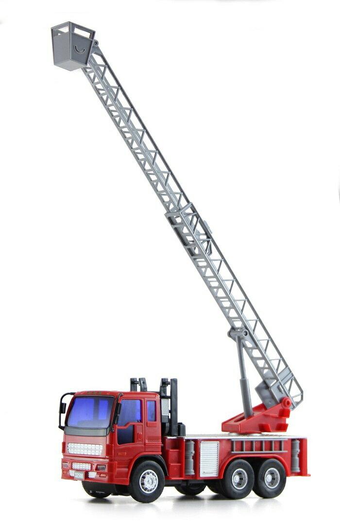 小小家 磨輪小型消防雲梯車 32508 3