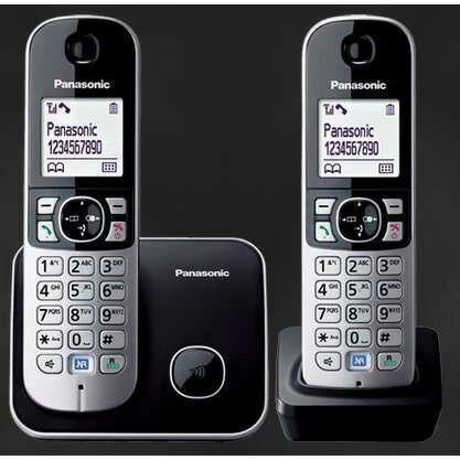 國際 Panasonic DECT 數位無線電話 KX-TG6812TW