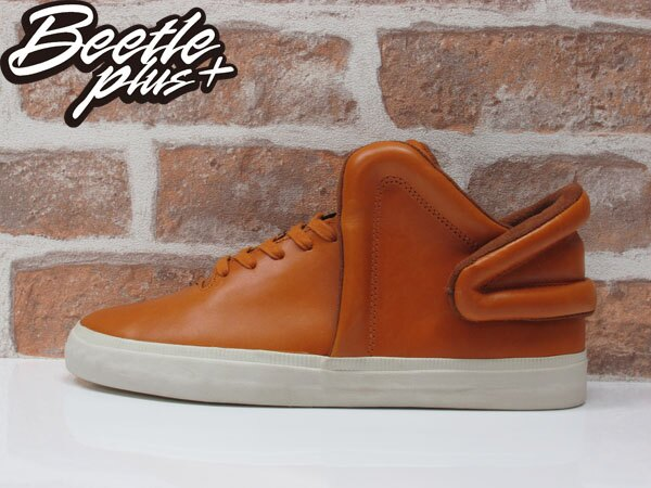 BEETLE PLUS SUPRA FALCON CARAMEL 咖啡 土黃色 皮革 滑板鞋 S78004 US10.5 0