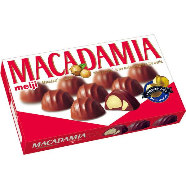 【即期良品】Meiji明治夏威夷豆巧克力 64g=夏季低溫冷藏配送= *賞味期限:2016/07/31*