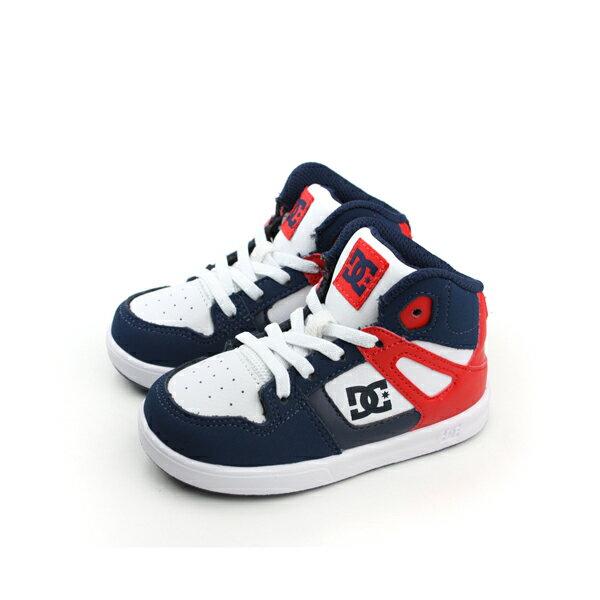 DC REBOUND UL 運動鞋 藍紅 小童 no130