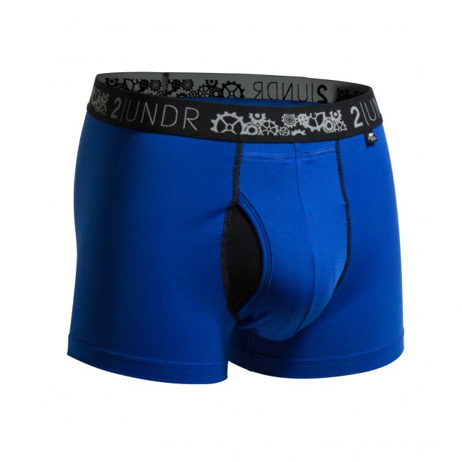 2UNDR【GEAR SHIFT】男性內著 BLUE(3吋) - 限時優惠好康折扣