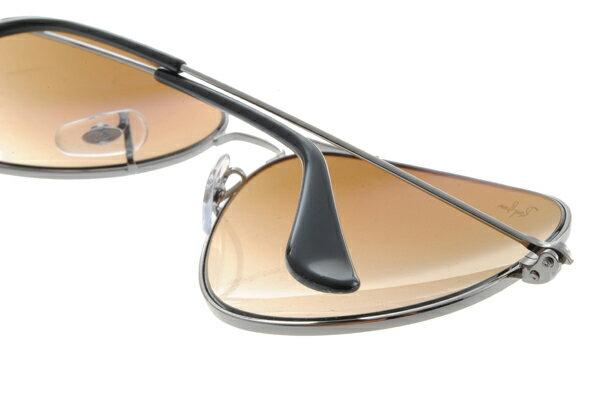 Ray Ban雷朋 銀邊漸層棕鏡 太陽眼鏡 RB3025 5