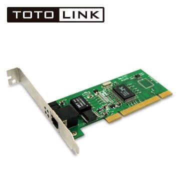 TOTOLINK P1000 Gigabit PCI極速乙太網路卡 [天天3C]