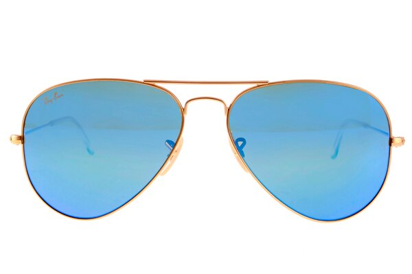 Ray Ban 雷朋 水銀鍍膜金邊藍鏡 太陽眼鏡 RB3025 4