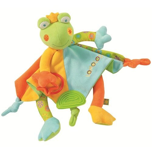 babyFEHN 芬恩 - 繽紛蛙布偶安撫巾 0