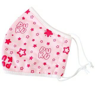 『121婦嬰用品館』PUKU 紗布抗菌口罩M - 粉 0