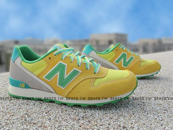 [23cm]《超值990元》Shoestw【WR996DBA】NEW BALANCE NB996 復古慢跑鞋 黃檸檬 女生尺寸