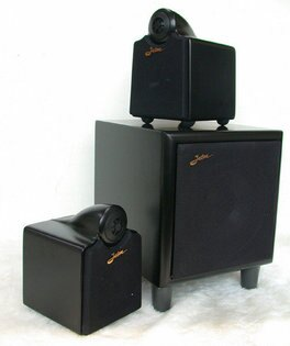 ANV【主動式2.1喇叭】高級喇叭 高級重低音 高級3聲道擴大機(MA-653MB)一組