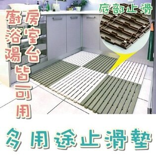POLYWISE BI-5932 塑膠浴室止滑墊、多用途防滑墊(1入)
