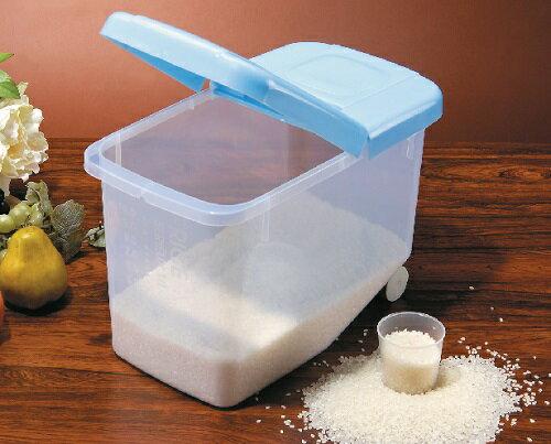 BI-5281-1 好媽媽米桶 附量杯儲米器 廚房好幫手