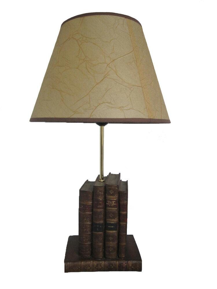 英國書本系列 - 4本書檯燈 高55cm