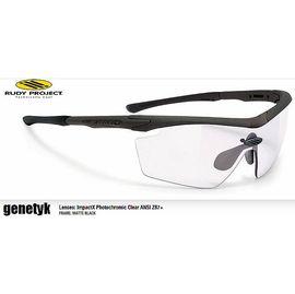 『凹凸眼鏡』射擊專用框~義大利 Rudy Project Genetyk Stealth(消光色)系列(ANSI Z87+透明變色鏡片)~ 可配度數專業運動鏡~六期零利率