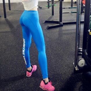 緊身褲運動褲-高彈力提臀塑形健美女健身用品73es14【獨家進口】【米蘭精品】