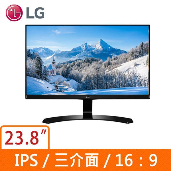 ★綠G能★全新★ LG 24MP68VQ-P 23.8吋(16:9寬) AH-IPS液晶顯示器
