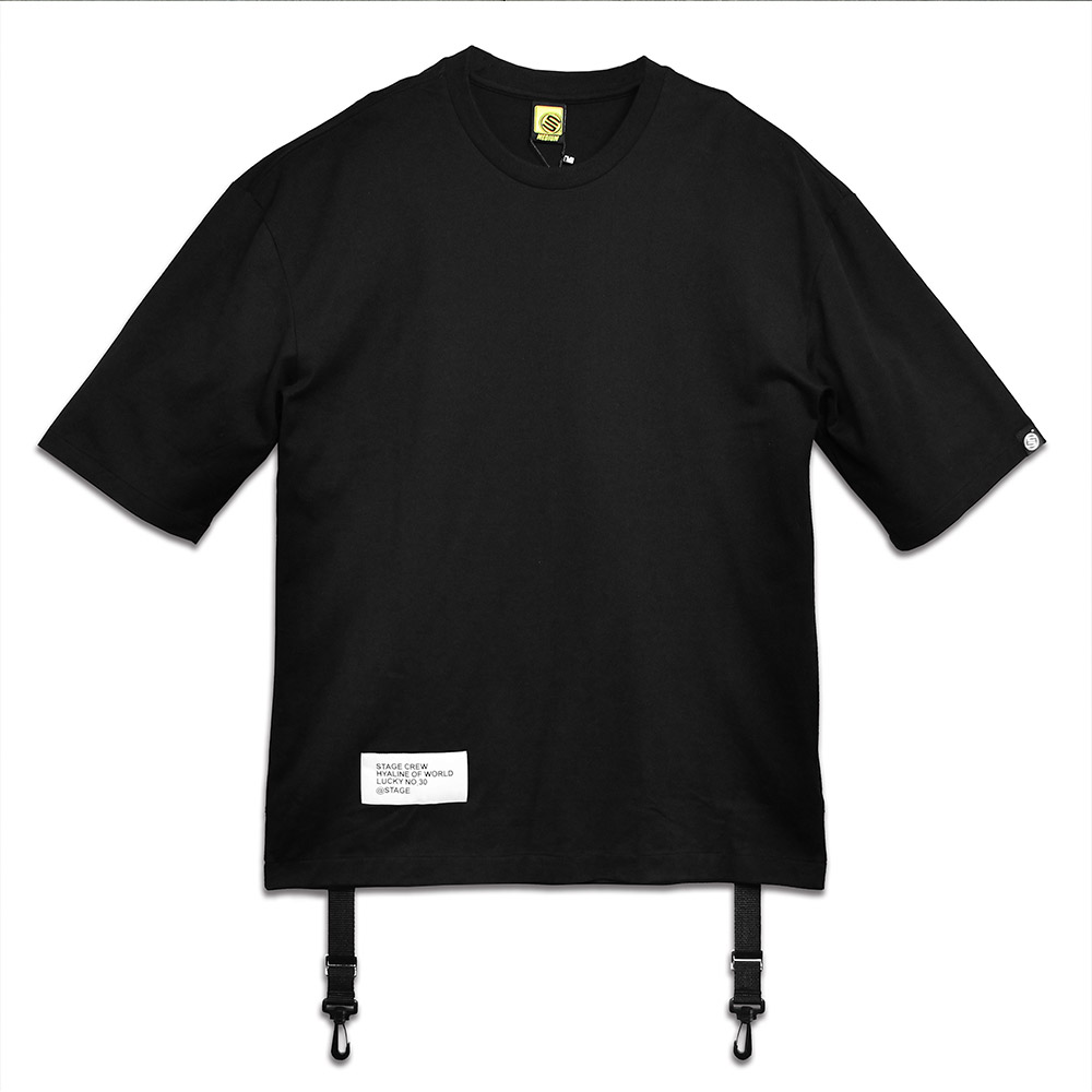 STAGE CLASP TEE 黑色 / 白色 兩色 3