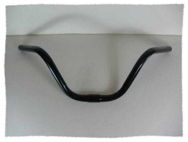 超高弧度車把手(碳鋼) / 車手橫管--淑女車 (黑色)《意生自行車》