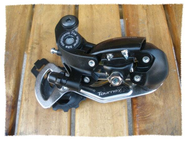 SHIMANO 7速Tourney後變速器 RD-TX35 無勾爪 / 固定式《意生自行車》