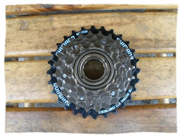 SHIMANO 六速鎖牙式 / 定位飛輪 / 14-28T《意生自行車》