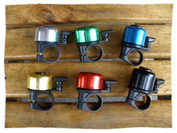 可愛造型圓形鈴鐺《意生自行車》