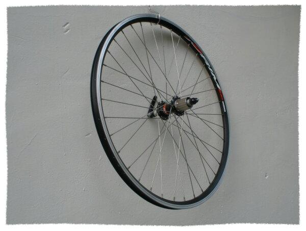 26吋登山車鋁合金雙層框 四培林後輪組 8.9速通用 V夾用