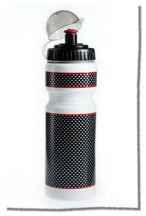 仿CARBON 白色碳纖維自行車水壺《意生自行車》