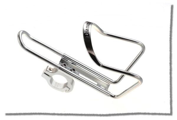鋁合金水壺架-車把車架兩用款  銀色《意生自行車》