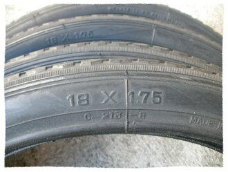 正新輪胎 18 x 1.75 細紋《意生自行車》