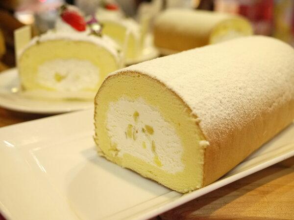【戚風國度bite me】北海道牛奶捲 日本黃金栗子粒,特製比例的牛奶鮮奶油,不油不膩的口感,加上濃郁的蛋香味[彌月、團購、伴手禮首選]
