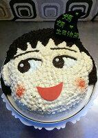 櫻桃小丸子週邊商品推薦【戚風國度bite me-造型蛋糕】櫻桃小丸子~立體造型蛋糕~8吋、10吋生日蛋糕~可選擇巧克力蛋糕體或香草蛋糕體~