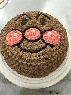【戚風國度bite me-造型蛋糕】超可愛的麵包超人~立體造型蛋糕~8吋、10吋生日蛋糕~可選擇巧克力蛋糕體或香草蛋糕體~