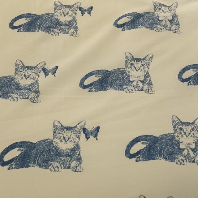Blue cat 藍貓【床包藍貓】 加大/Kingsiz賣場   舒適磨毛布 台灣製造 3