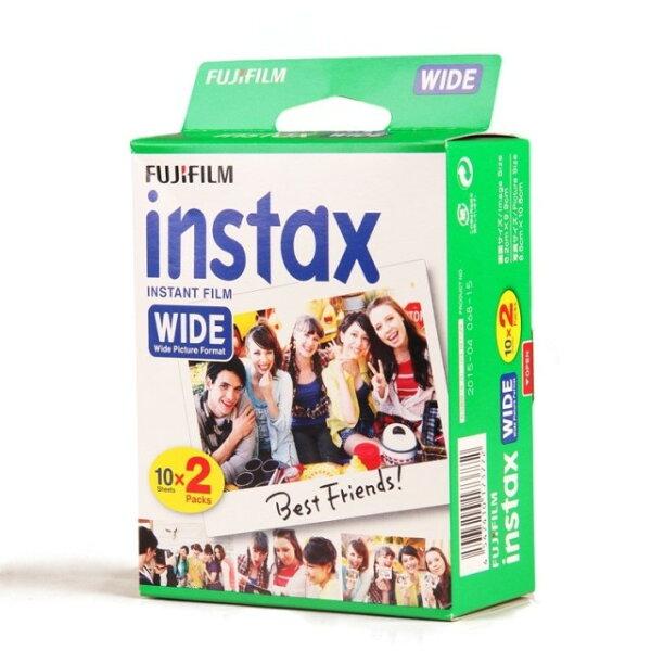 可傑 全新 Fujifilm INSTAX WIDE  210 / 200 / 100 底片大張底片 寬幅底片1捲10張 大張空白底片
