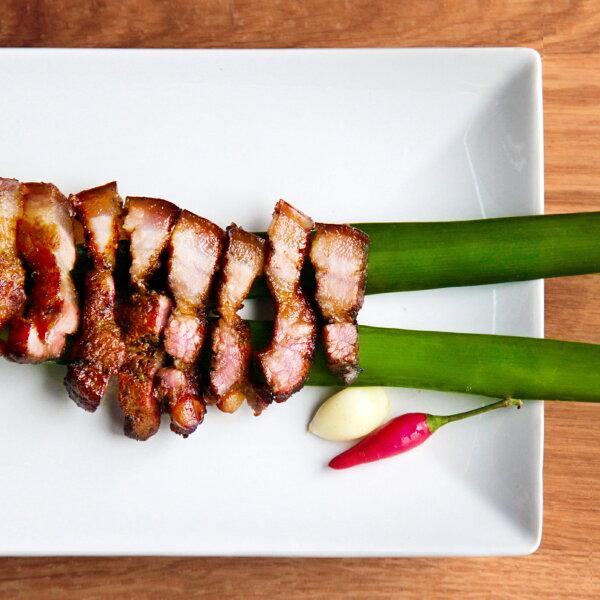 【沈記香腸】鹹豬肉 (手工製作約3~4人份)★台北市傳統市場節天下第一攤冠軍店家、團購美食、網路票選冠軍、伴手禮首選