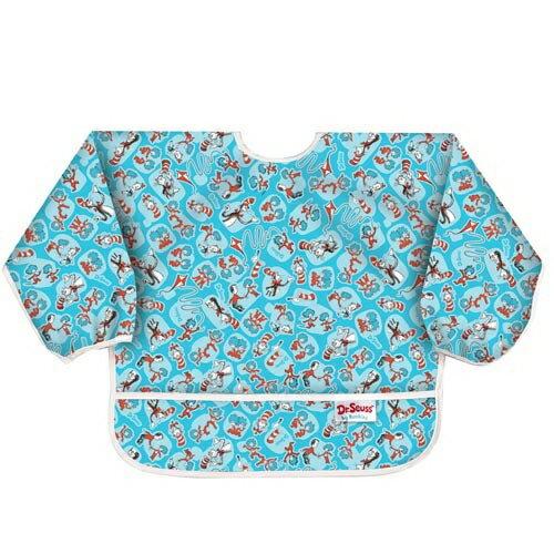 美國【Bumkins】小童長袖防水圍兜 -帽子貓 BKSU-C01 (6-24個月) - 限時優惠好康折扣