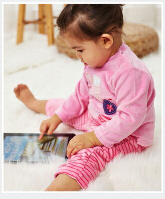 ☆Babybol☆女童冬裝保暖兩件套, 套裝包含(上衣,褲襪)【24110】 1